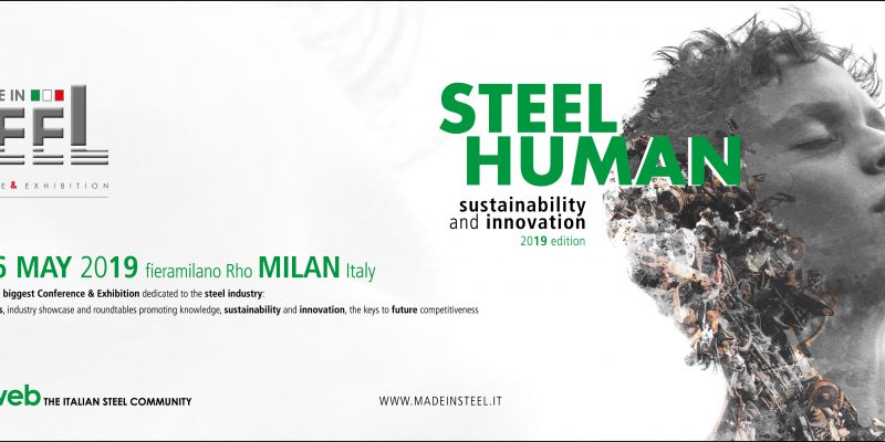 Banner fiera Made in Steel